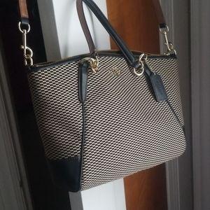 Coach crossbody checkered kelsey satchel purse